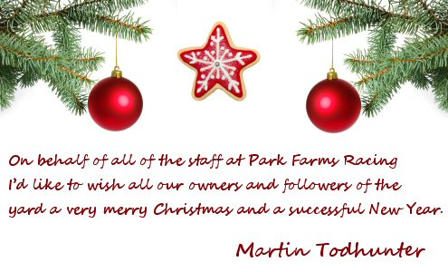 Merry Christmas from Park Farms Racing
